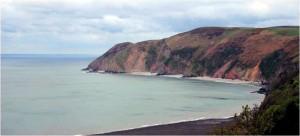 Lynmouth coastline