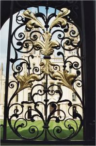 Oxford ornament gate