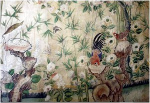 Chinese wallpaper 1770ies (Nostell Priory)