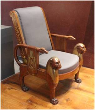 Egyptian Style Chair 1805 1815 V A