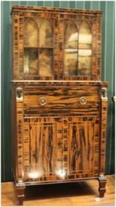 Farrago gothic egyptian 1817 cabinet