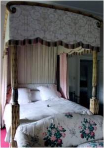 Bamboo bed, 1820 (Basildon Park)