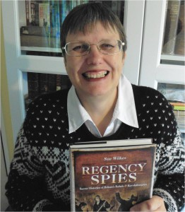 Sue Wilkes, author of 'Regency Spies'