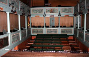 A typical Georgian auditorium