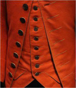 Woollen waistcoat for daywear in town (1760-1780