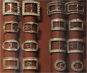 1770-1790 shoebuckles paste