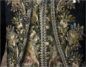 1795-98 Court suit waistcoat detail